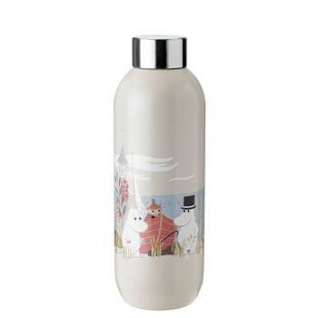 Moomin Keep Cool Bottle 75 cl - Sand - Stelton
