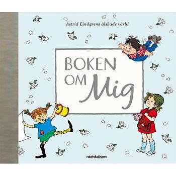 Boken om mig - Fylla i bok - Astrid Lindgren