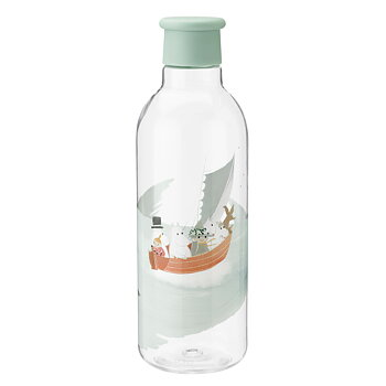 Moomin Drink-It Water Bottle 75 cl - Dusty Green - RIG-TIG