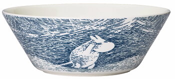 Arabia Moomin Bowl - Snow Blizzard - Season bowl winter 2020