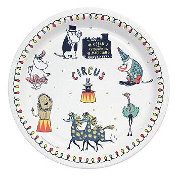 Moomin Paper Plates 12 pcs - Circus