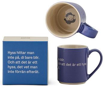 Astrid Lindgren Citat Mugg - Hyss hittar man inte på