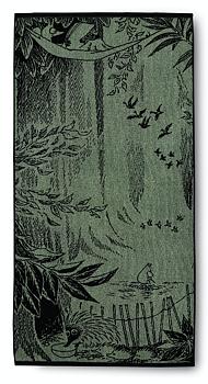 Mumin Badlakan 70x140 cm  - Skogsmumin - Grön - Finlayson