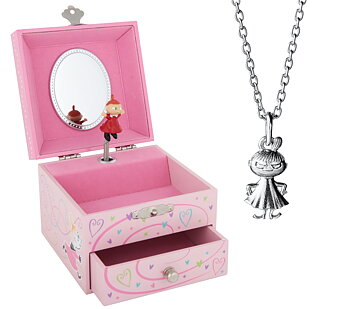 Gift Set - Little My Necklace + Jewelry Box