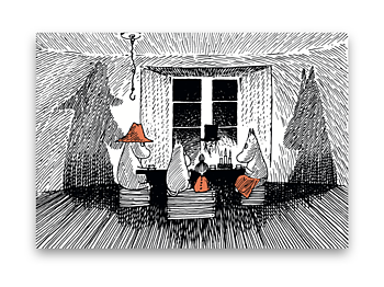 Moomin Table mat - True it's origins