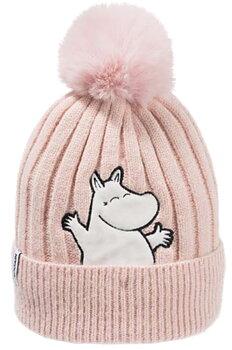 Moomin Winter Hat Beanie - Moomintroll - Pink