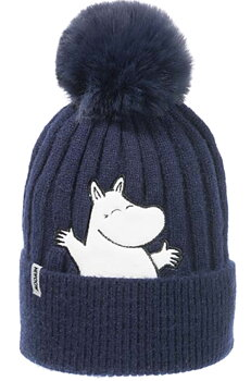 Moomin Winter Hat Beanie - Moomintroll - Dark blue