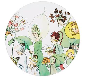 Elsa Beskow Grytunderlägg - Blomsterfesten