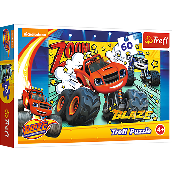 Blaze and the monster maskines 60 Bitar Trefl
