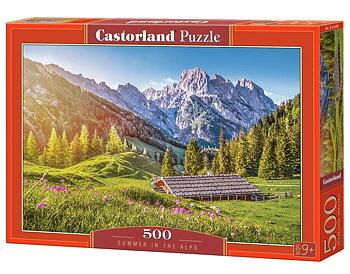 Sommar i Alperna 500 Bitar Castorland