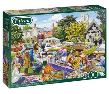 Village Church Car boot sale 500 Bitar Falcon Jumbo