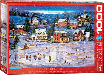 Stars on Ice 1000 Bitar Eurographics Puzzle