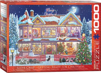 Getting ready for Christmas 1000 Bitar Eurographics Puzzle