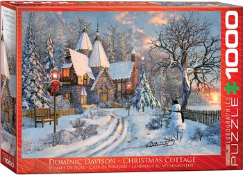 Christmas Cottage 1000 Bitar Eurographics Puzzle