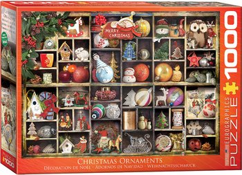 Christmas Ornaments 1000 Bitar Eurographics Puzzle