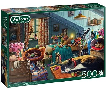Cats in the Attic 500 Bitar Falcon Jumbo