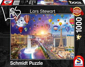 Las Vegas Night and Day 1000 Bitar Schmidt