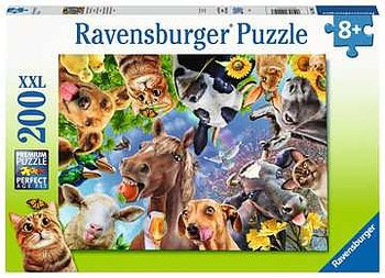 Funny farmyard friends 200 XXL Bitar Ravensburger