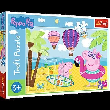Peppa Pig 24 Maxi Bitar Trefl