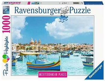Mediterranean  Places 1000 Bitar Ravensburger