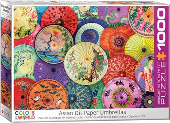 Asian Oil-Paper Umbrellas 1000 Bitar Eurographics