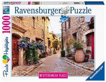 Medelhavet Frankrike 1000 Bitar Ravensburger
