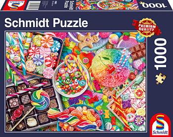 Candylicious 1000 Bitar Schmidt