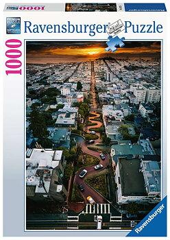 Lombard Street  San Francisco 1000 Bitar Ravensburger