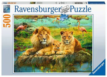Lions in the Savannah 500 Bitar Ravensburger