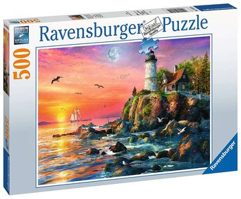 Lighthouse at Sunset 500 Bitar Ravensburger