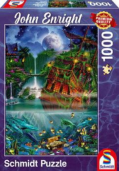 Sunken Treasure 1000 Bitar Schmidt