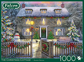 The Christmas Cottage 1000 Bitar Jumbo