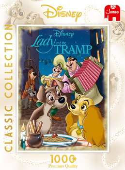 Lady & the Tramp 1000 Bitar Jumbo