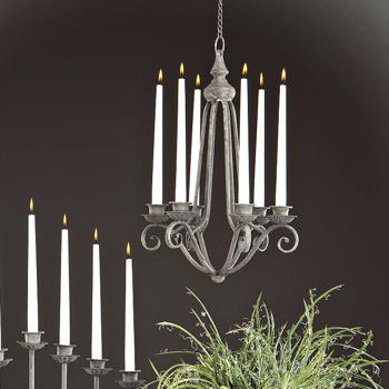 Lantlig Ljuskrona för levande ljus - Fransk stil
