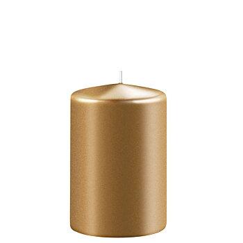 Blockljus Guld H 10 cm