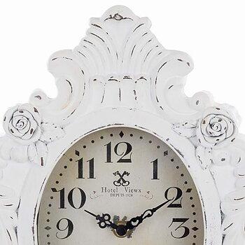 Vit Klocka Romantique White - Italiensk Design