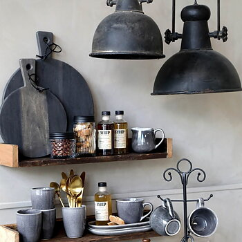 Taklampa/Lampa - Industristil