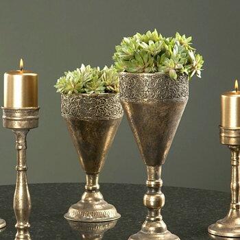 Blomkruka - Pokal - Baroque - 26 cm