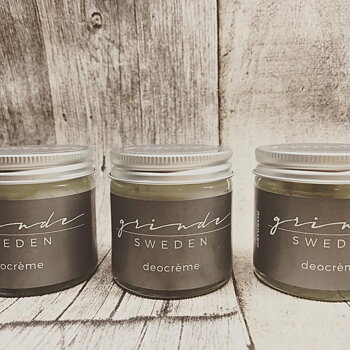 Grinde Sweden Ekologisk Deodorant (S), 15 ml