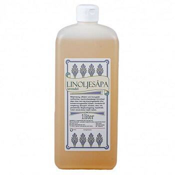 Grunne Linoljesåpa Lavendel, 1 liter