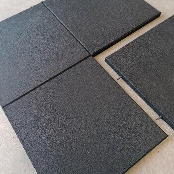 Gymgolv 30 mm, 50x50 cm, Svart (Pris/st)