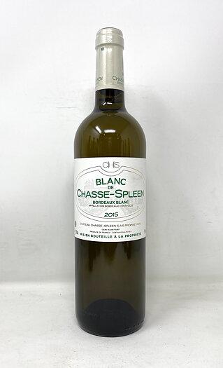 2015 BLANC DE CHASSE SPLEEN, 75 cl