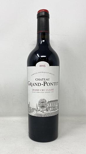 2015 GRAND PONTET, 75 cl