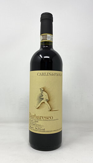 2016 BARBARESCO CARLIN DE PAOLO, 75 cl
