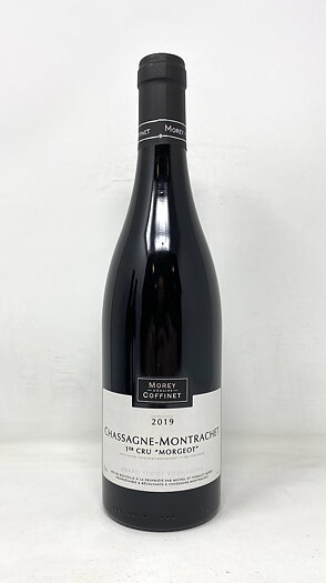 2019 CHASSAGNE MONTRACHET RGE MORGEOT MOREY COFFINET, 75 cl