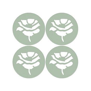 Poids de nappe Rose Vert