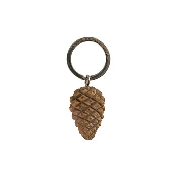 Keyring Pine Cone