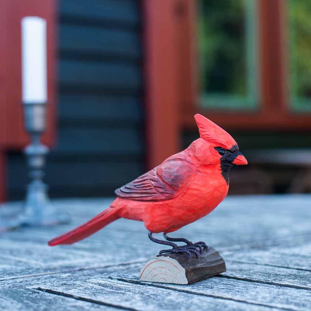 Decobird Cardinal Rouge Wildlife Garden
