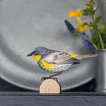 DecoBird Paruline à croupion jaune