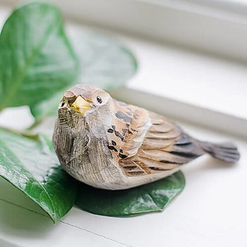 DecoBird House Sparrow Chick